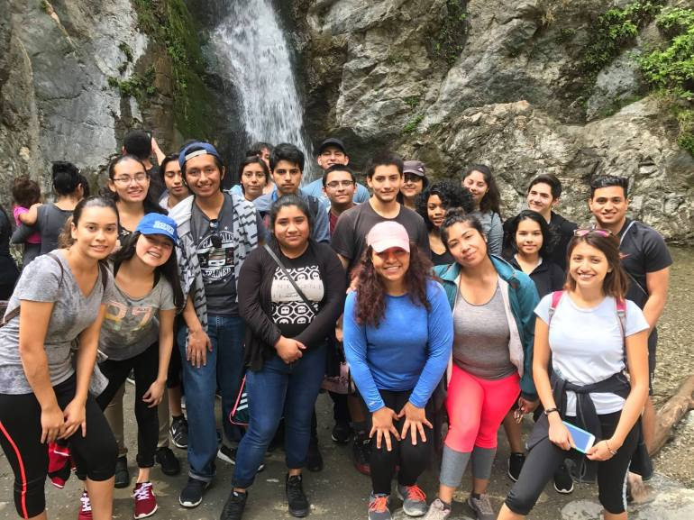 lilian hike group 2